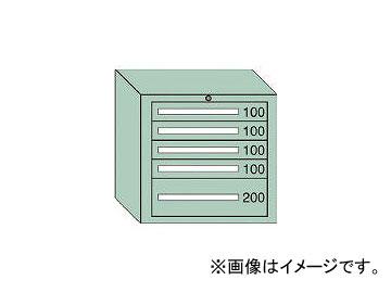 大阪製罐/OS ミドルキャビネットMD型 最大積載量600kg 引出し4×1段 MD607
