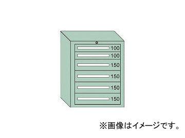 大阪製罐/OS ミドルキャビネットMD型 最大積載量800kg 引出し2×4段 MD804