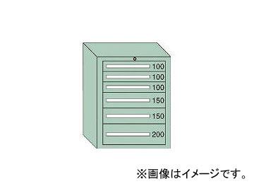 大阪製罐/OS ミドルキャビネットMD型 最大積載量800kg 引出し3×2×1段 MD806
