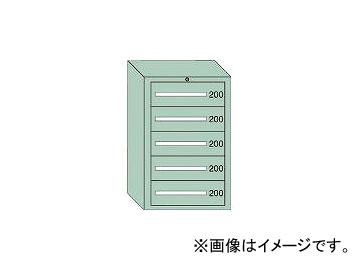 大阪製罐/OS 中量キャビネット7型 最大積載量1000kg 引出し5段 71002