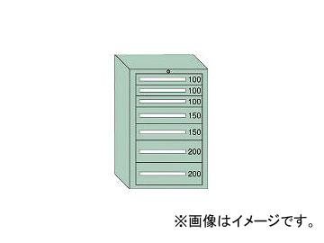 大阪製罐/OS 中量キャビネット7型 最大積載量1000kg 引出し3×2×2段 71007