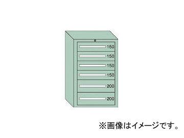 大阪製罐/OS 中量キャビネット7型 最大積載量1000kg 引出し4×2段 71014
