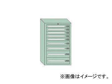 大阪製罐/OS 重量キャビネットDX型 最大積載量1500kg 引出し5×2×2段 DX1211