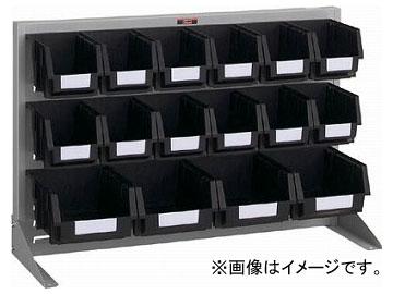 トラスコ中山/TRUSCO 導電性パネルコンテナラック 卓上型 コンテナ中×12 大×4 T0634NE SV(3526658) JAN:4989999824452