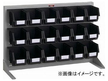 トラスコ中山/TRUSCO 導電性パネルコンテナラック 卓上型 コンテナ中×18 T0636NE SV(3526640) JAN:4989999824445