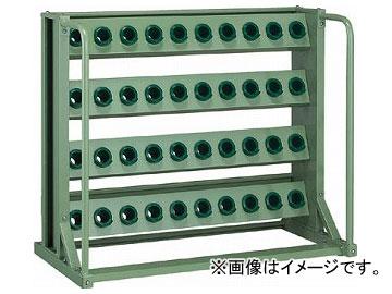 トラスコ中山/TRUSCO ツーリングラック BT・NT40兼用 40個収納 ロック付 VTL410(2661209) JAN:4989999627961