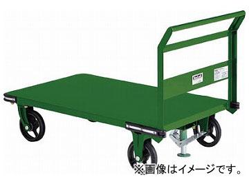 トラスコ中山/TRUSCO 鋼鉄製運搬車 1400×750 φ200鋳物車輪 S付 OHN1LS(3081150) JAN:4989999693980