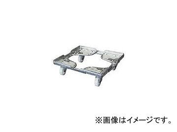 ルート工業/ROUTE コンテナ台車 ルートボーイ602AL型(アルミ) 最大510×510 602AL05