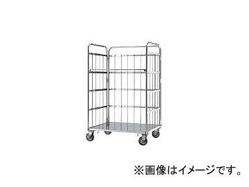 本庄厨房機器製作所 マイティー ロールボックスパレット 950×600 SUSφ150ゴム車 MC2D