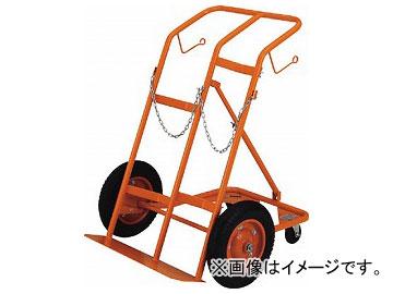 トラスコ中山/TRUSCO ボンベ台車 四輪安定型 酸素・アセチレンボンベ二本積用 HT65N(2852446) JAN:4989999681871