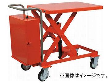 新しいスタイル 800kg HLAN800:オートパーツエージェンシー2号店 600×1200 電動昇降式 ハンドリフター トラスコ中山/TRUSCO-DIY・工具