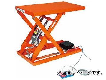 トラスコ中山/TRUSCO テーブルリフト500kg(電動Bねじ100V)650×1050mm HDLL50610V12