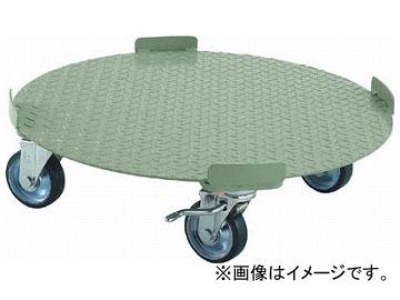 トラスコ中山/TRUSCO 円形台車 4点ガイド型 荷重300kg 台寸φ610 S付 RB300S(3001270) JAN:4989999682175