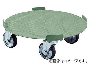 トラスコ中山/TRUSCO 円形台車 4点ガイド型 荷重500kg 台寸φ610 RB500(5100879) JAN:4989999671650