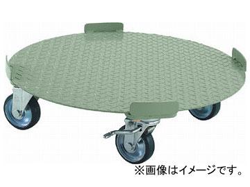 トラスコ中山/TRUSCO 円形台車 4点ガイド型 荷重500kg 台寸φ610 S付 RB500S(3001288) JAN:4989999682182