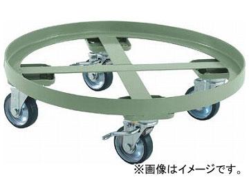 トラスコ中山/TRUSCO 円形台車 全周ガイド型 荷重300kg 台寸φ610 S付 RC300S(3001296) JAN:4989999682199