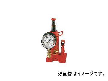 マサダ製作所/MASADA ゲージ付油圧ジャッキ 20TON MH20P(3956521) JAN:4944015113040