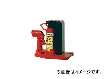 今野製作所/CHERUBIM イーグル レバー回転・安全弁付爪つきジャッキ 爪能力8t G160(3029352) JAN:4520187170038