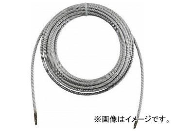 トラスコ中山/TRUSCO 手動ウインチ用ワイヤーφ6×20m用(切りっ放し) WW620(3925501) JAN:4989999097948