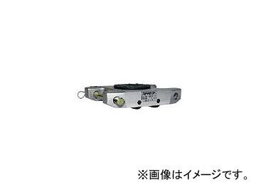 ダイキ/DAIKI スピードローラーアルミダブル型ウレタン車輪2t ALDUW2(4320824) JAN:4582203291486
