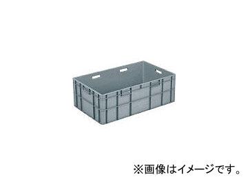 三甲/SANKO TPボックス TP483L(取手有) ライトグレー SKTP483LGLL(3421821) JAN:4983049365766