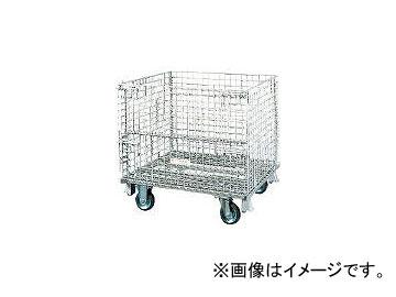 超激安 メッシュパレット サンキン/SANKIN 150mmキャスター付 SC412S:オートパーツエージェンシー2号店-DIY・工具