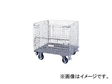 サンキン/SANKIN メッシュパレット 150mmキャスター付 SCS5S