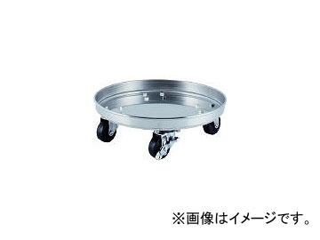 日東金属工業/NITTO-KINZOKU タンク運搬用ステンレス台車 SSゴム車 適用サイズ36 KM36(5096235) JAN:4560132182686