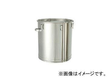 日東金属工業/NITTO-KINZOKU ステンレスタンク 大型キャッチクリップ式密閉タンク(フタ付) 200L CTH565H(5096332) JAN:4560132181627