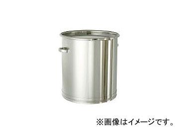 日東金属工業/NITTO-KINZOKU ステンレスタンク 大型レバーバンド式密閉タンク(フタ付) 150L CTL565(5096286) JAN:4560132181788