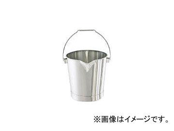 日東金属工業/NITTO-KINZOKU ステンレスバケツ 15L BA15(3106721) JAN:4560132183096