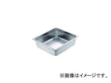 スギコ産業/SUGICO 18-8スーパーデラックスパン 2/3サイズ 353×325×150 SH1876SW(5007933) JAN:4560125838729