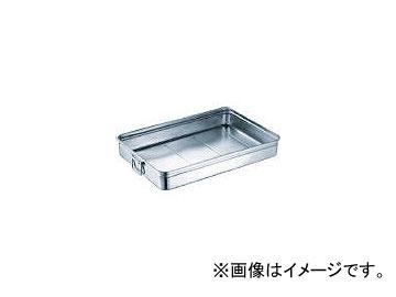 スギコ産業/SUGICO 18-8ステンレス番重バット 特大深型 手付 660×440×120 SH664412H(3320618) JAN:4580128946276