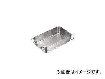 日本メタルワークス/NMW 18-8 ストッパー付給食バット 運搬型穴明 S02200006001(3938743) JAN:4538085012725