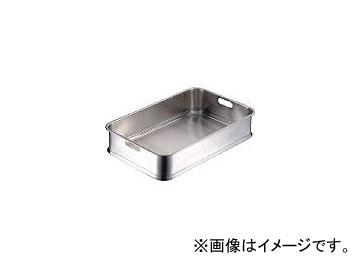 日本メタルワークス/NMW エコクリーン 給食バット 手穴 E01400001900(4042107) JAN:4538085070589