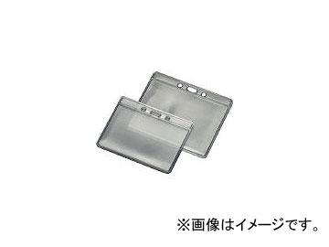 森松/MORIMATSU 静電対策名札ケース 大 0.35mm×90×110 MSDNEL(3317676) JAN:4948548015260 入数:50枚