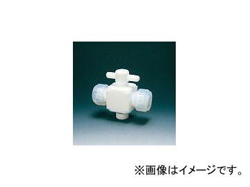 フロンケミカル/FLON テフロン二方バルブ接続10mm NR002803(3915395) JAN:4562305540071