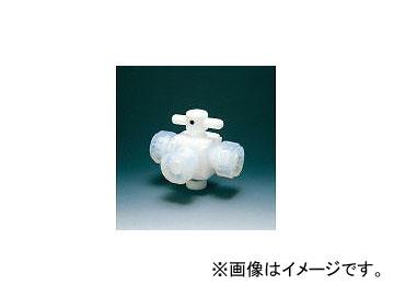 フロンケミカル/FLON テフロン三方バルブ接続6mm NR003001(3915417) JAN:4562305540095