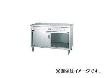 シンコー/SHINKOHIR ステンレス保管庫片面引出付ステンレス戸仕様 ED12060