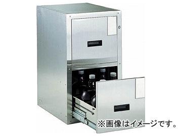 トラスコ中山/TRUSCO Bigborn 耐震薬品庫 455×600×H800 2段引出型 SY2(5115612) JAN:4989999631715
