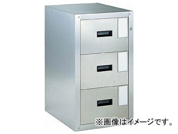 トラスコ中山/TRUSCO Bigborn 耐震薬品庫 455×600×H800 3段引出型 SY3(5106541) JAN:4989999631746