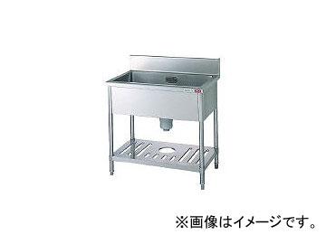 タニコー/TANICO 一槽シンク(ホース1本付) TTS1S90