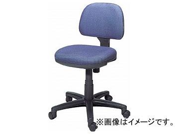 トラスコ中山/TRUSCO オフィスチェア 布張り 肘無 ブルー FST3 B(5036020) JAN:4989999755459