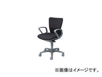 岡村製作所/OKAMURA 「カロッツァ」 ローバック 肘付 ブラック CK43GRFS11