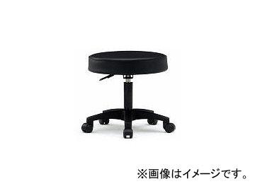藤沢工業/FUJISAWA TOKIO 作業用チェア ビニールレザー ブラック ガスシリンダー FTY20BK(3234045) JAN:4942646011438