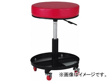 トラスコ中山/TRUSCO 工具入れ付作業椅子 φ370×H440-555 TWCSR(2889218) JAN:4989999756593