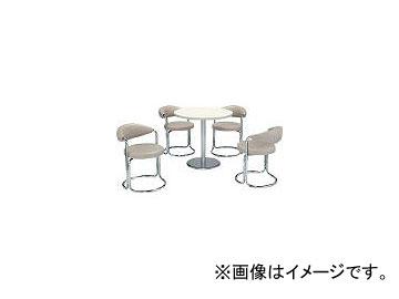 ミズノ/MIZUNO 簡易応接セット用丸テーブル(アイボリー) MBT750R