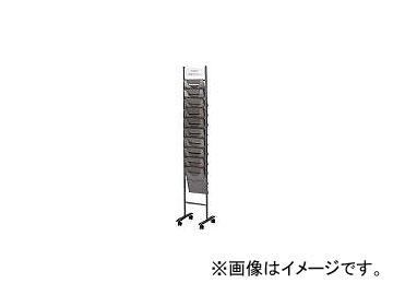 ノーリツイス/NORITSUISU A4サイズパンフレットスタンド(310×380×1640) TPSK210D