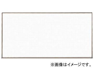 トラスコ中山/TRUSCO スチール製ホワイトボード 白暗線 ブロンズ 900×1800 WGH102SA BL(2884941) JAN:4989999774504