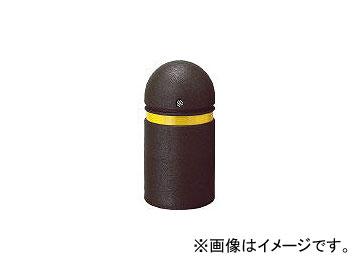 篠田ゴム/SHINODA-GOMU 車止め ボラード ブラウン φ250×H470 ST20BR